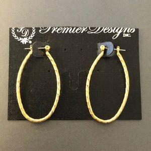 NEW Premier Designs Hot Cakes Hoop Earrings